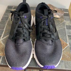 Reebok Athlux Black & Purple Running Shoe
